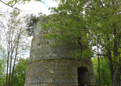 Sainte-Barbe-sur-Gaillon : ancien moulin des quatre vents