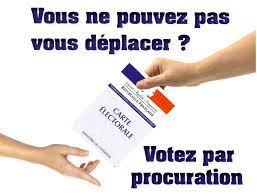 LA PROCURATION : Comment voter le jour de l'élection ?