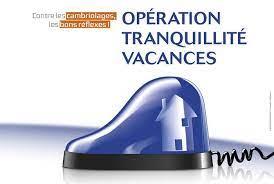 OTV : Formulaire pour l' Opération Tranquillité Vacances