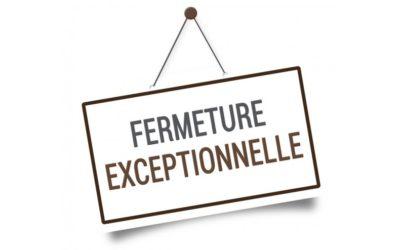 Avis du maire : Fermeture de la mairie Quartier d'Aubevoye – Du 10 juillet au 21 août 2021