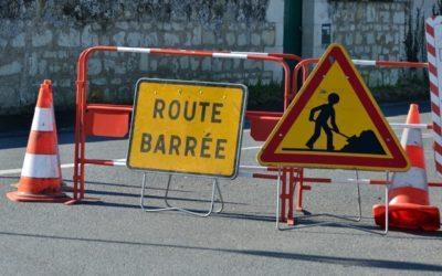 Route barrée rue des Pivots du 04.01 au 22.01.2021